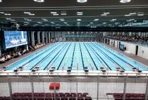Zdjęcie przedstawiające basen olimpijski Centrum Sportowo-Rehabilitacyjnego WUM